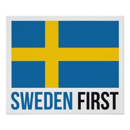 1017f786 Make Sweden Great Again #MSGA Swedish Flag poster $19.60 by Kekistan -  custom gift idea