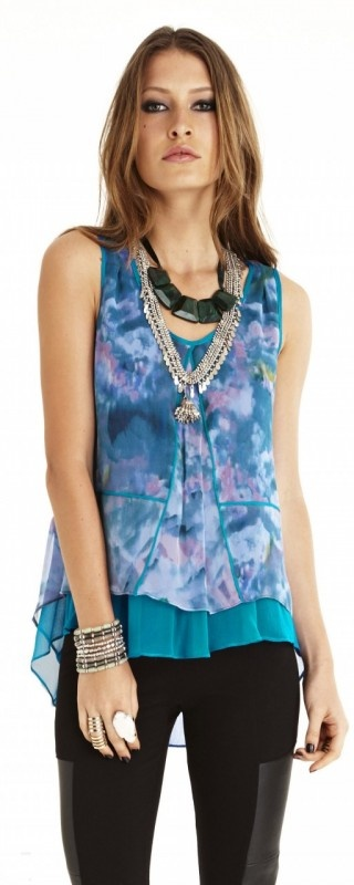 Evasion Top by WISH  Now: $99.95 #lilac #fun #fashion