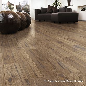 """Palmetto Road laminate flooring St. Augustine collection in """"San Marco Hickory"""""""