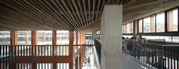 bambù XiaoQuan Elementary School TAO (TRACE ARCHITECTURE OFFICE)
