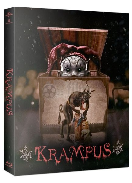 Blu-ray movie Krampus, Krampus Blue-ray. When his dysfunctional family clashes over the holidays, young Max (Emjay Anthony) is disillusioned and turns his back on Christmas.