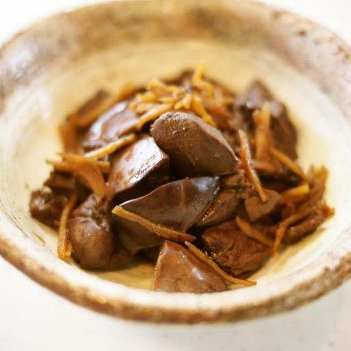 生姜煮が定番の鶏レバーを、赤ワインとバルサミコで洋風の煮物に。造血に関わる栄養素が豊富で、貧血が気になる方にお勧めです。