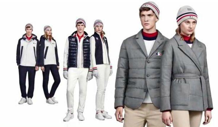 Jeux Olympiques de Sotchi 2014: Lacoste habille l'équipe de France pour l'hiver