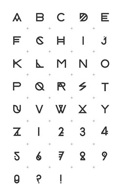 Harf77 typography