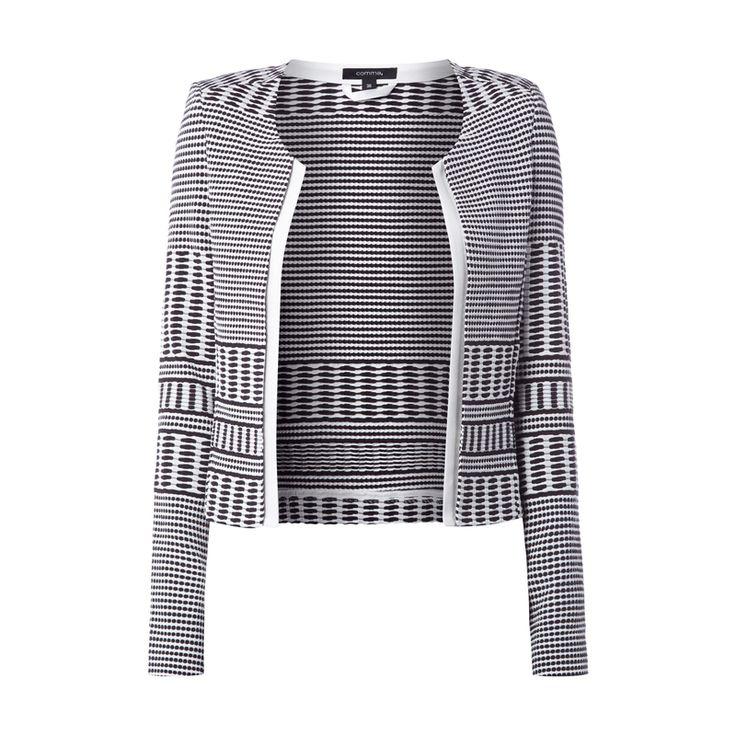 #comma #Damen #Blazer mit #strukturiertem #Muster - Damen Blazer von comma…