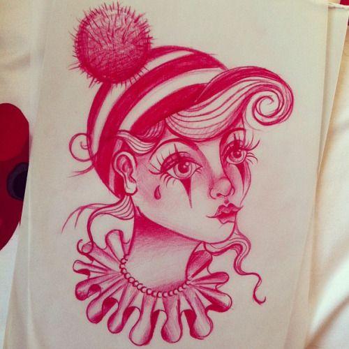 Best 25 Clown Tattoo Ideas On Pinterest: 17 Best Ideas About Clown Tattoo On Pinterest