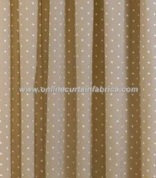 Viewing Dotty Powder Taupe  Blackout Curtains by Sundour