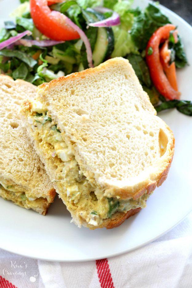 Southwestern Egg Salad Sandwich