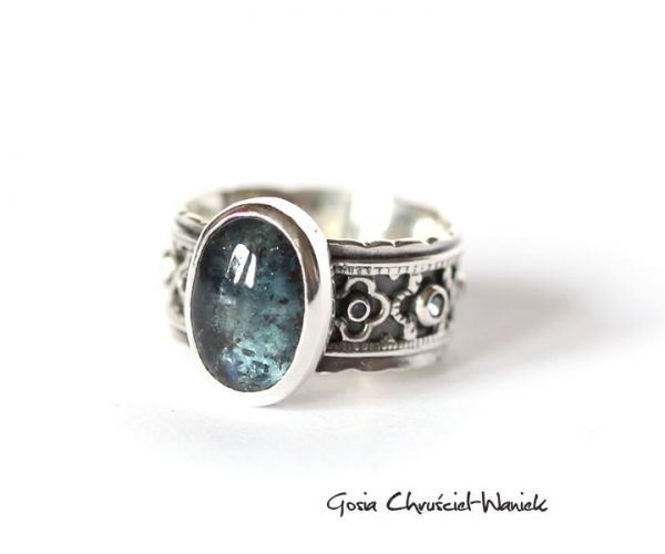 #kyanite #silver #sterling silver #ring