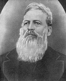 1ste President van die Oranje Vrystaat,  Josias Philip Hoffman