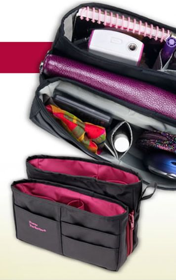 Nominated for Best Solution for Everyday Organizing, the Purse Perfector organizes all items for easy access, and easily moves from one bag to another! To learn more about this innovative product, visit booth #201 at the NAPO2013 expo, and be sure to cast your vote for Organizers' Choice!