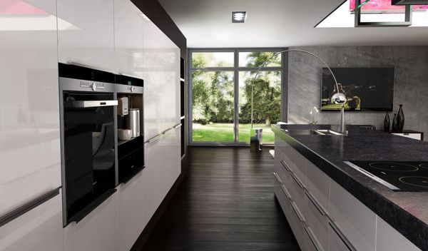 Acrylic Kitchens is a new trend from Europe with smooth acrylic finish available in high gloss solid and metallic colors. Acrylic Kitchen doors designed ...