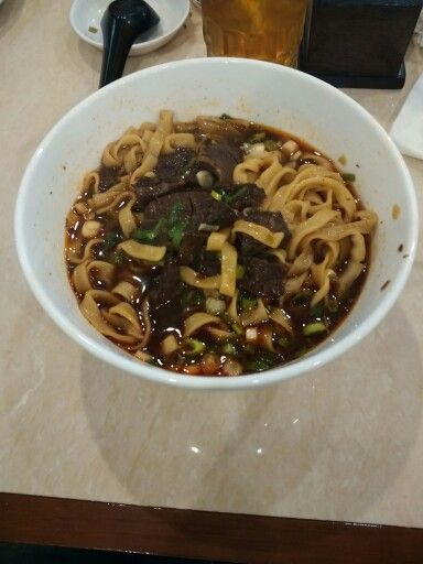 Chili beef noodle