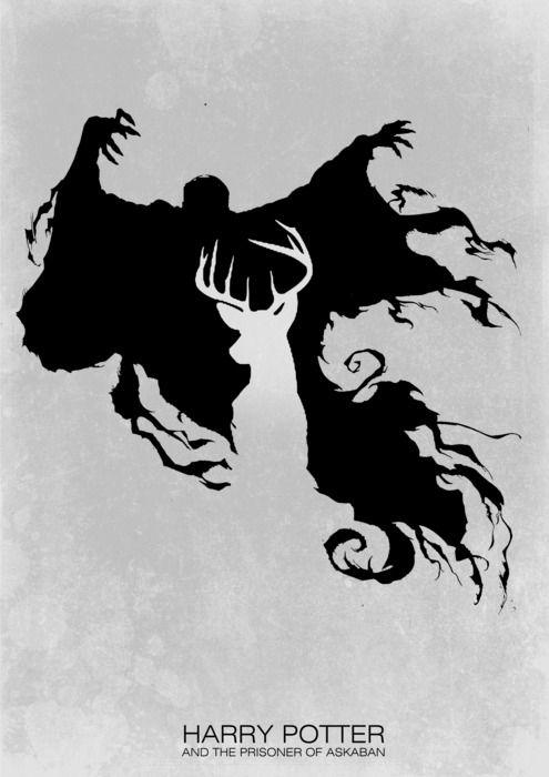 Expecto Patronum: Poster Design, Tattoo'S Idea, Harry Potter Tattoo'S, Expecto Patronum, Prison Of Azkaban, A Tattoo'S, Minimal Movies Poster, Minimalist Movies Poster, Harry Potter Art
