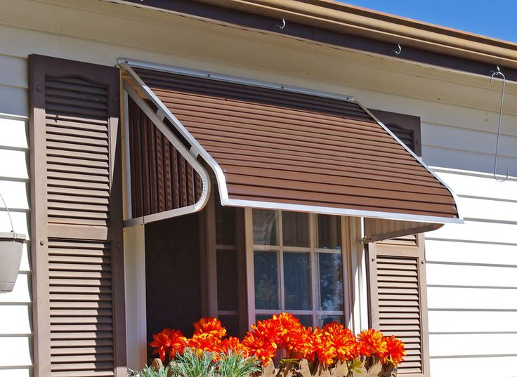 3500 Series Window Awning | Aluminum window awnings ...