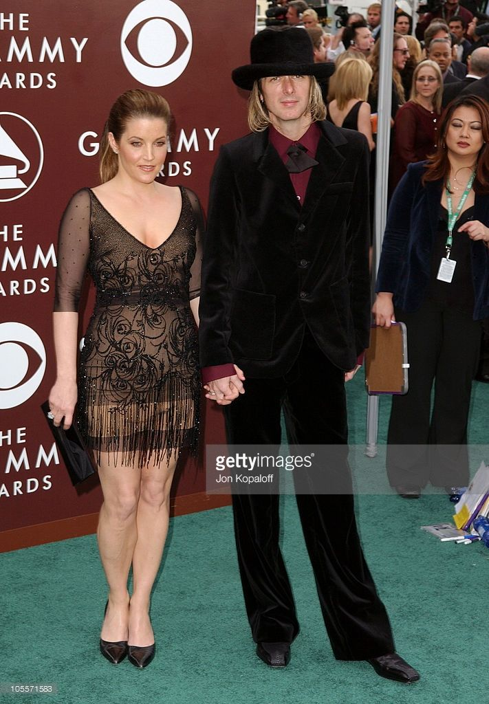 103150228d Lisa Marie Presley and Michael Lockwood during The 47th Annual ...