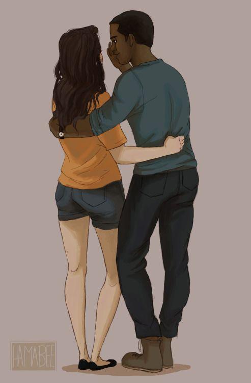 Silena and Charlie I'm crying so hard inside