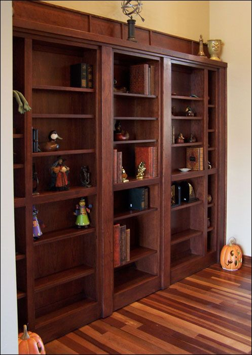 hidden gun cabinet  closet woodworking projects plans