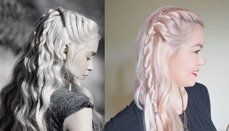 10 Game of Thrones Frisuren für Frauen – Ideen, Bilder und Video-Anleitungen   – Neueste Deko Design