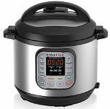 Instant Pot IP-DUO60 7-in-1 Programmable Pressure Cooker, 6Qt/1000W, Stainless Steel Cooking Pot and Exterior, Latest 3rd Generation Technology