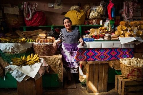 "Lina has been selling different products in Antigua, Guatemala, for sixty-two years. She reminded me that everyone, even those leading quiet and anonymous lives, want to be remembered.  ""Please send me this photo. I've gathered many pictures of myself..."