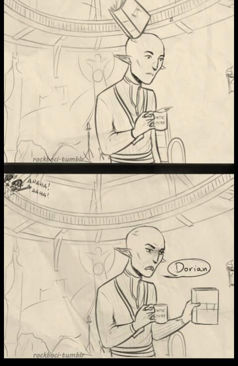 Dragon Age ~They have the most passive-aggressive arguments ever. I'm 99% sure this actually happened.