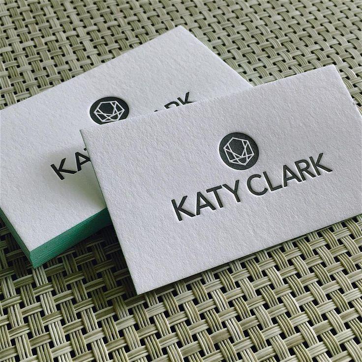 Best Letterpress Business Cards Images On   Embossed
