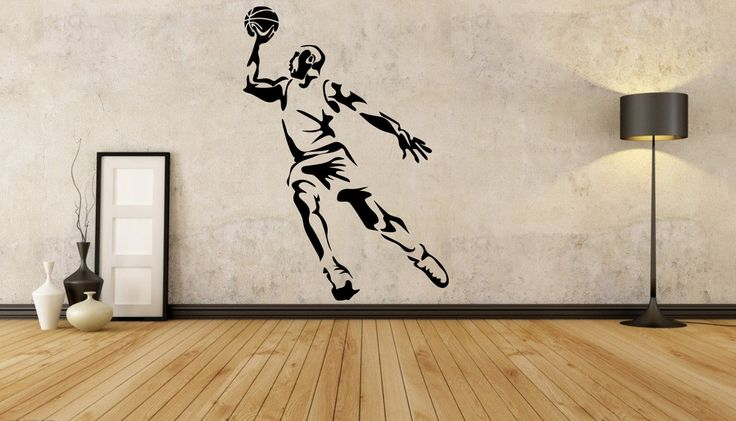 Basketball Player Wall Decal Basketball Player by EpicSignsMalta