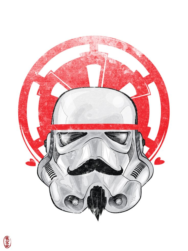 Imperial Hipster: Stormtrooper by ~cryssy on deviantART. Heather Kopf check out the stash!