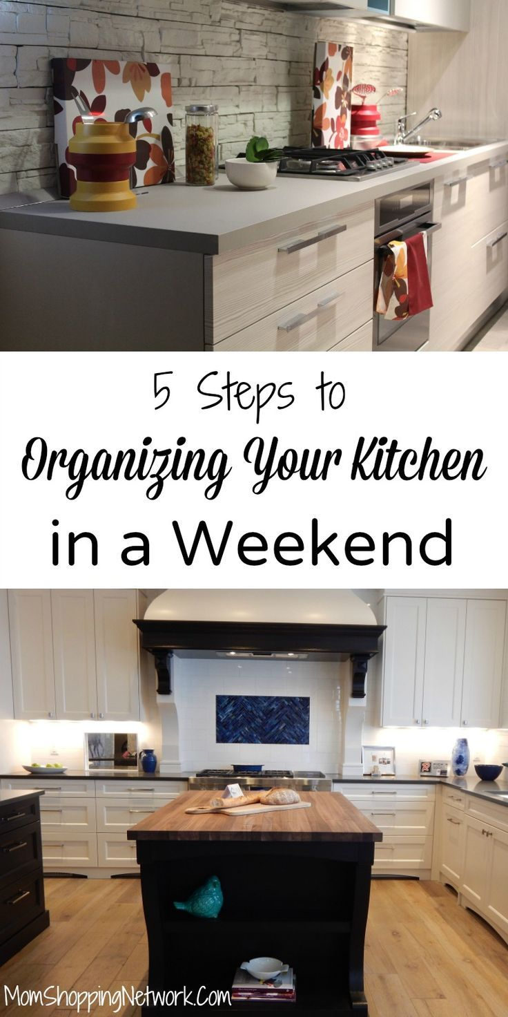 steps to organizing your kitchen in a weekend in organize
