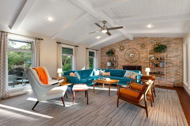 21 Beautiful Mid Century Modern Living Room Ideas