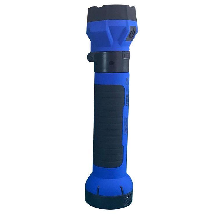 Lightbolt Max Cordless Rechargeable Multi-Function Work Light, Blue