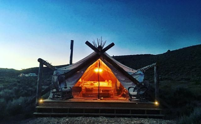 You don't need snow to enjoy Vail's ski slopes: Go Glamping.