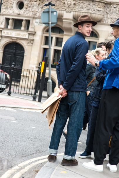 London Collections Men S/S '16 street style