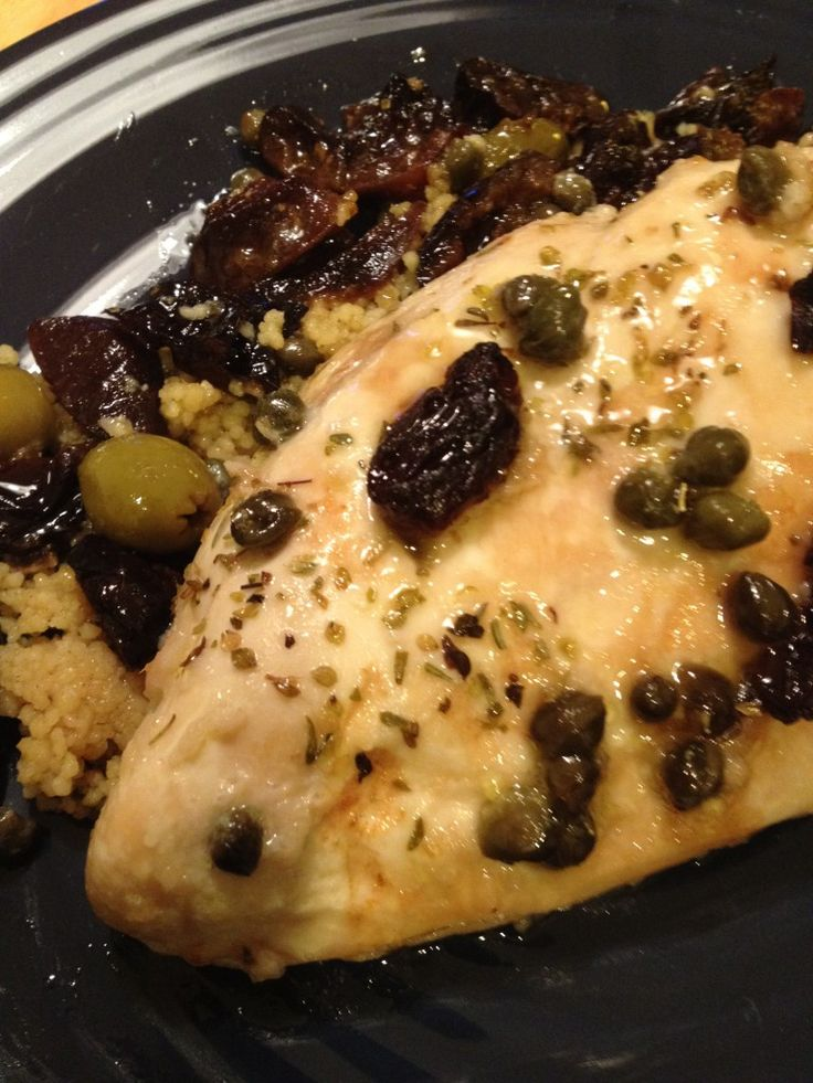 Chicken Mirabella - A Mediterranean Delight to Make Ahead and Freeze - The Dinner-Mom