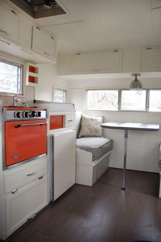 best 25+ trailer interior ideas on pinterest | vintage camper
