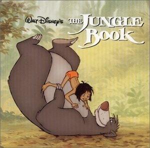 My FAVORITE cartoon movie :-)  The Jungle Book, soundtrack cover: 2001. Original: 1967.