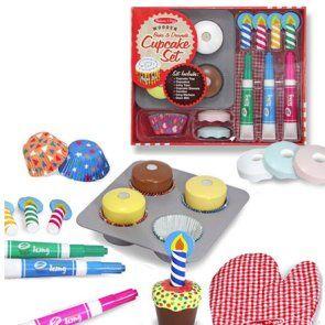 melissa and doug set de cupcakes