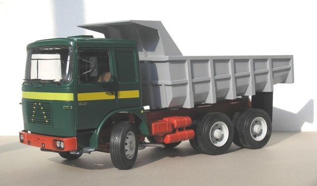 Roman Diesel Dump Truck