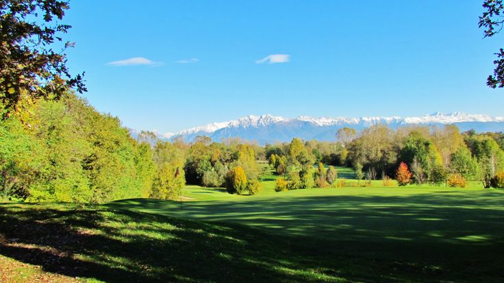 The course at the Golf Club Udine, Fagagna - Italy