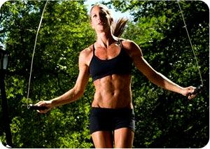 Jump Rope Interval Training Routine - http://weightlossandtraining.com/jump-rope-interval-training-routine