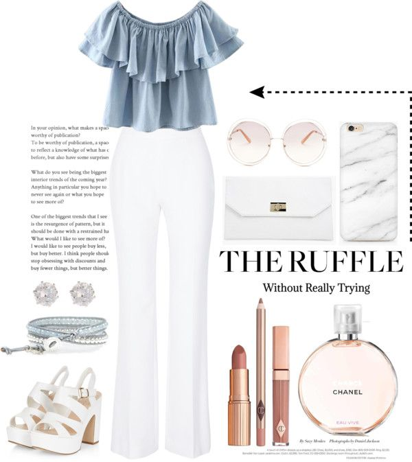 The Ruffle trend