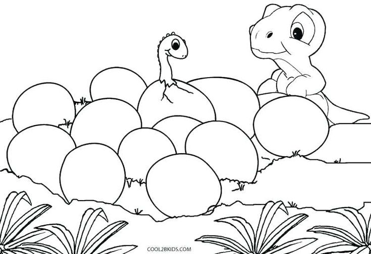 dinosaurs color pages baby dinosaur coloring pages ...