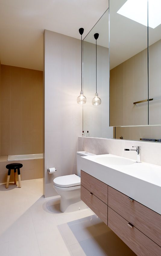 Armadale Interior by Bower Architecture Bathroom