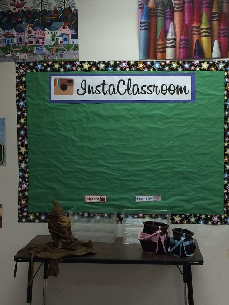 InstaClassroom Instagram bulletin board | Middle School
