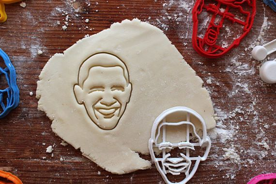 Obama Cookie Cutter