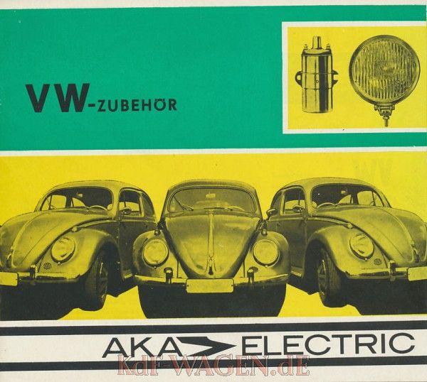 VW - 1970 - VW Zubehör. AKA Electric - [9736]-1