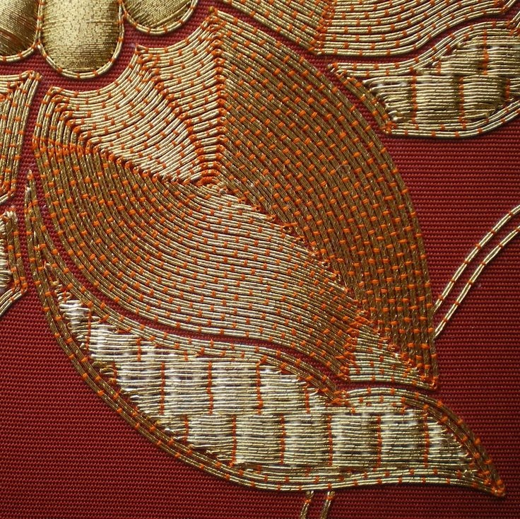 Threads Across the Web: Gold Work