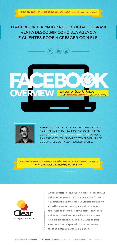 Facebook Overview com Rafael Ziggy em 17/3 - Floripa - SC