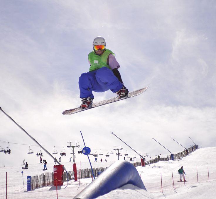 Estación de esquí Javalambre.